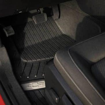 2018 Chevrolet Colorado Interior footwell