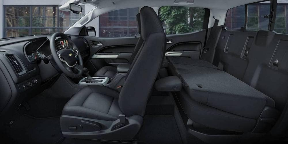 2018 Chevrolet Colorado Interior Seating