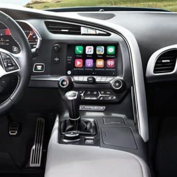 2018 Chevy Corvette Interior Dash