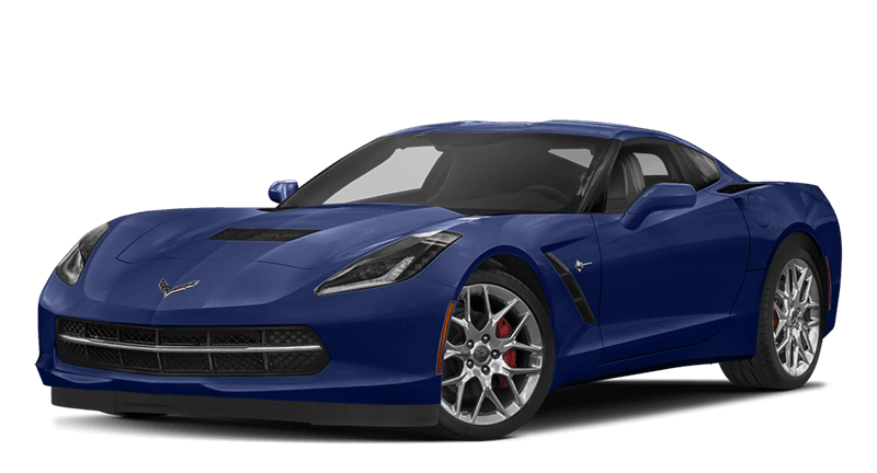 2018 Corvette Blue