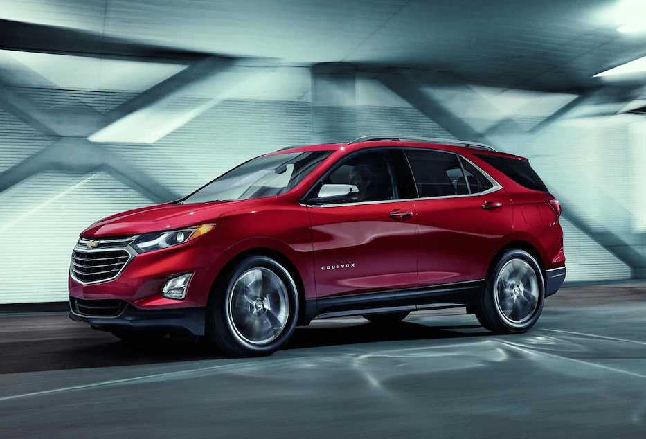 2018 Chevy Equinox red exterior