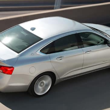2019-Chevrolet-Impala-driving-on-highway