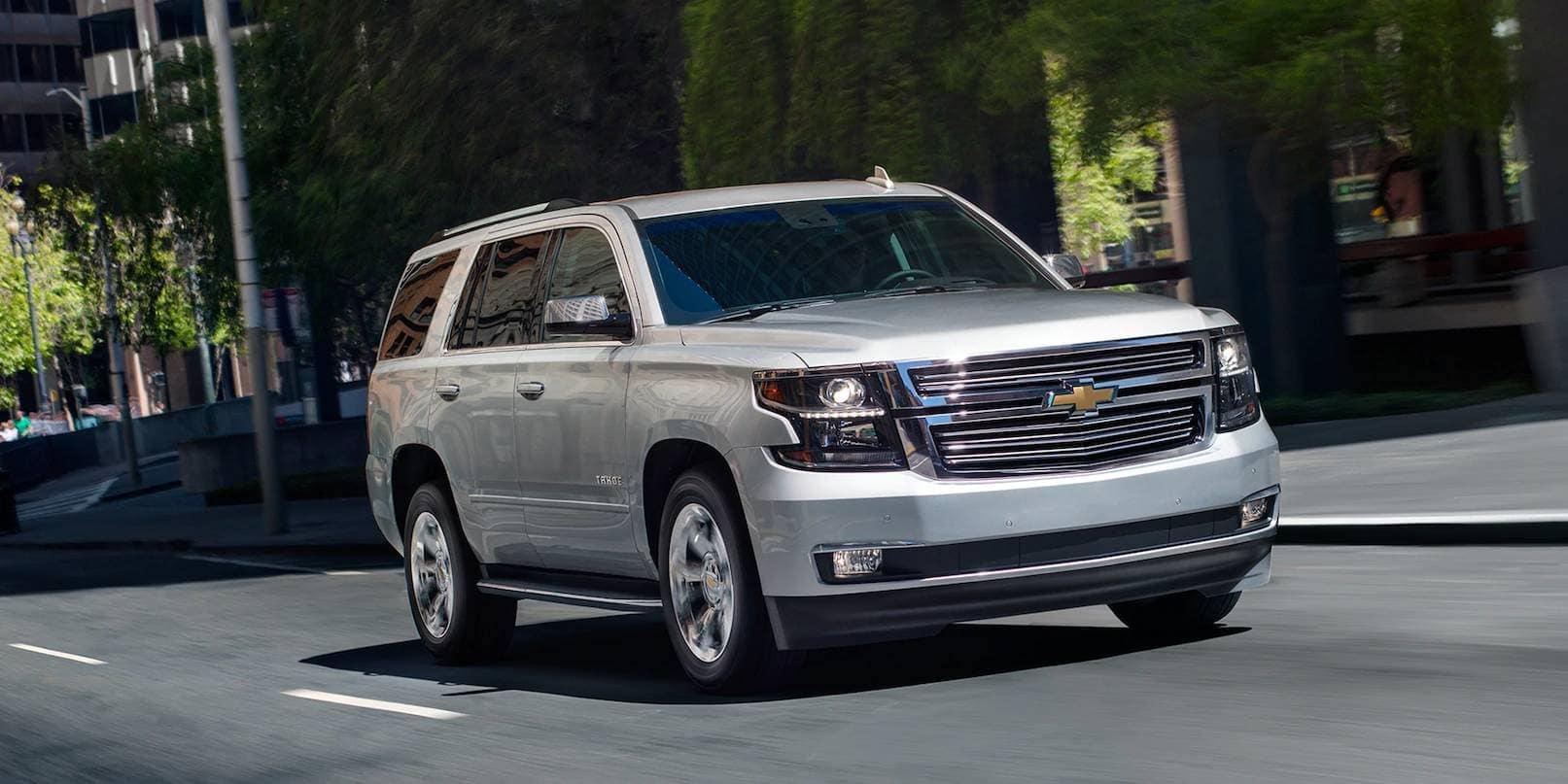 2019 Chevrolet Tahoe Exterior Driving Down Street