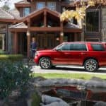 2019 Chevrolet Tahoe Exterior Parked in Front of House