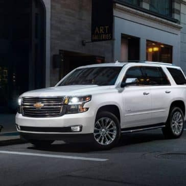 2019 Chevrolet Tahoe Exterior Parked in City