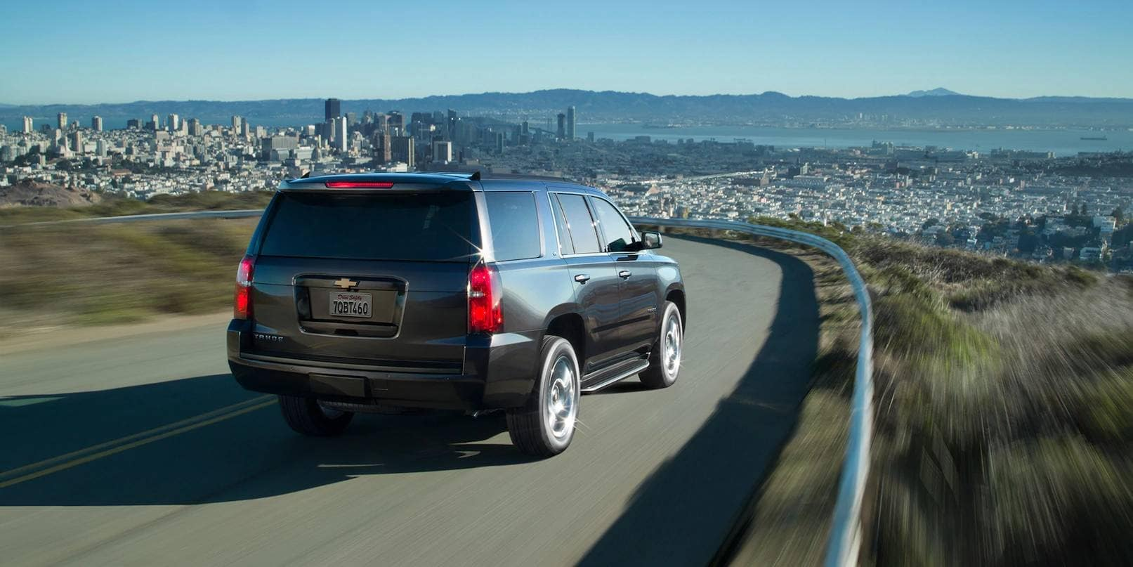 2019 Chevrolet Tahoe Exterior Driving on Highway