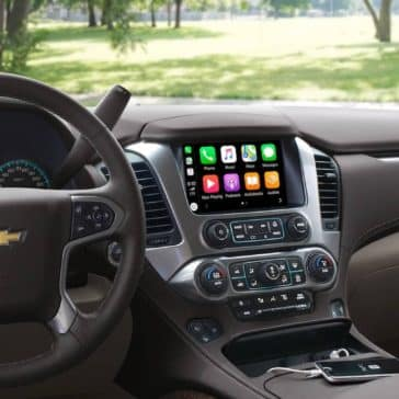 2019 Chevrolet Tahoe Interior Dashboard Parked