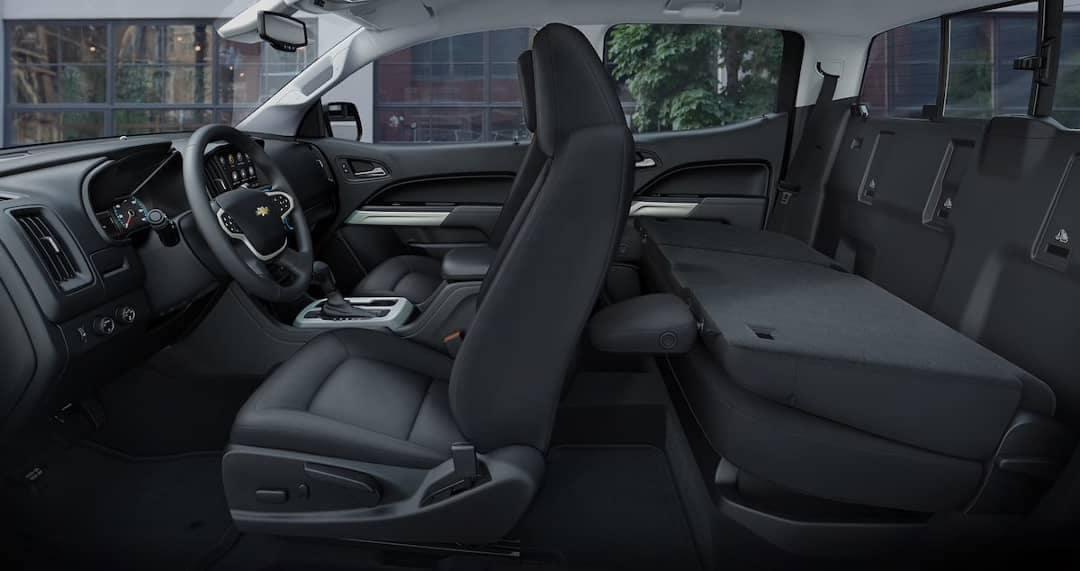 2019 colorado cabin rear fold down seats
