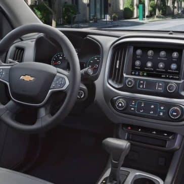 2019 colorado interior dashboard