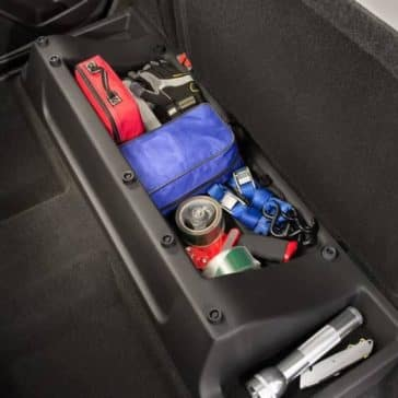 2019 colorado under seat storage