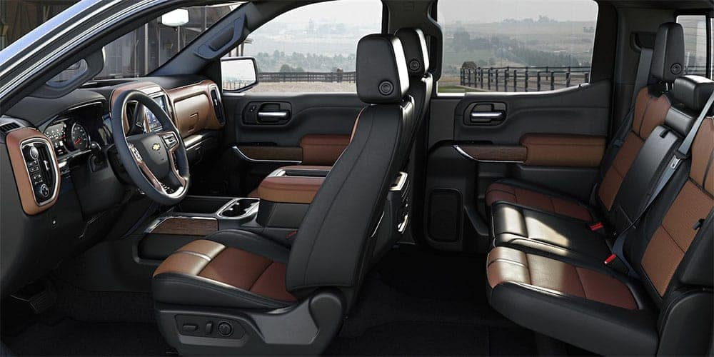 2019 Chevrolet Silverado 1500 seating