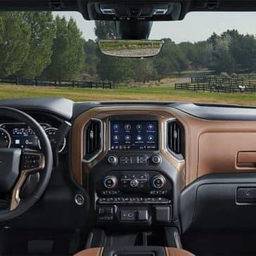 2019 Chevrolet Silverado 1500 front interior