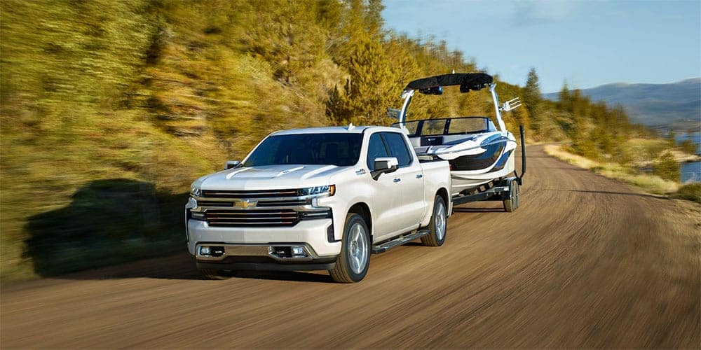 2019 Chevrolet Silverado 1500 with trailer