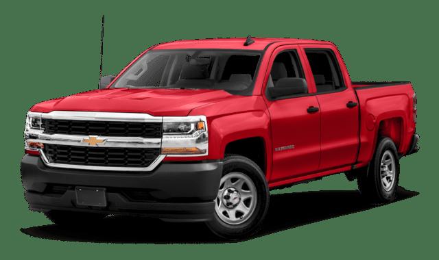 2019 Chevrolet Silverado 1500 Crew Cab Work Truck