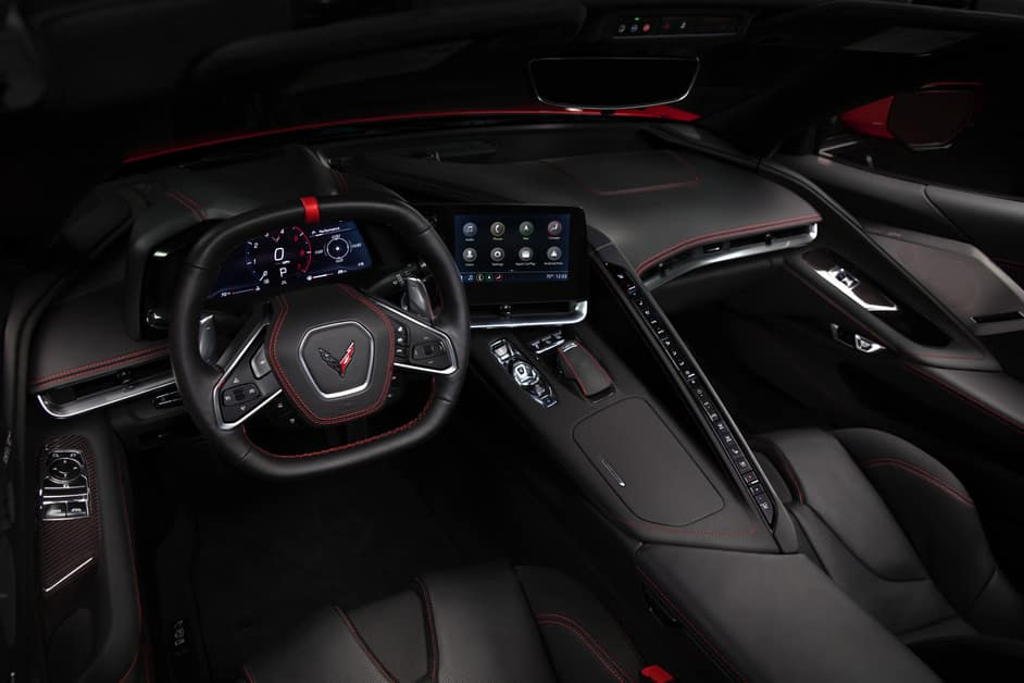 2020 Corvette Interior
