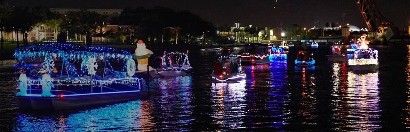 Tampa Riverwalk Boat Parade