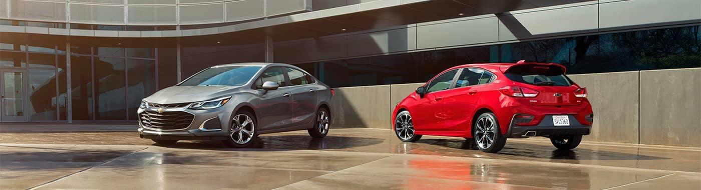 Chevrolet Cruze Models Parked
