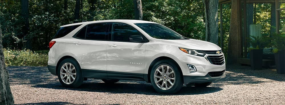 Chevrolet Equinox Parked Outside House