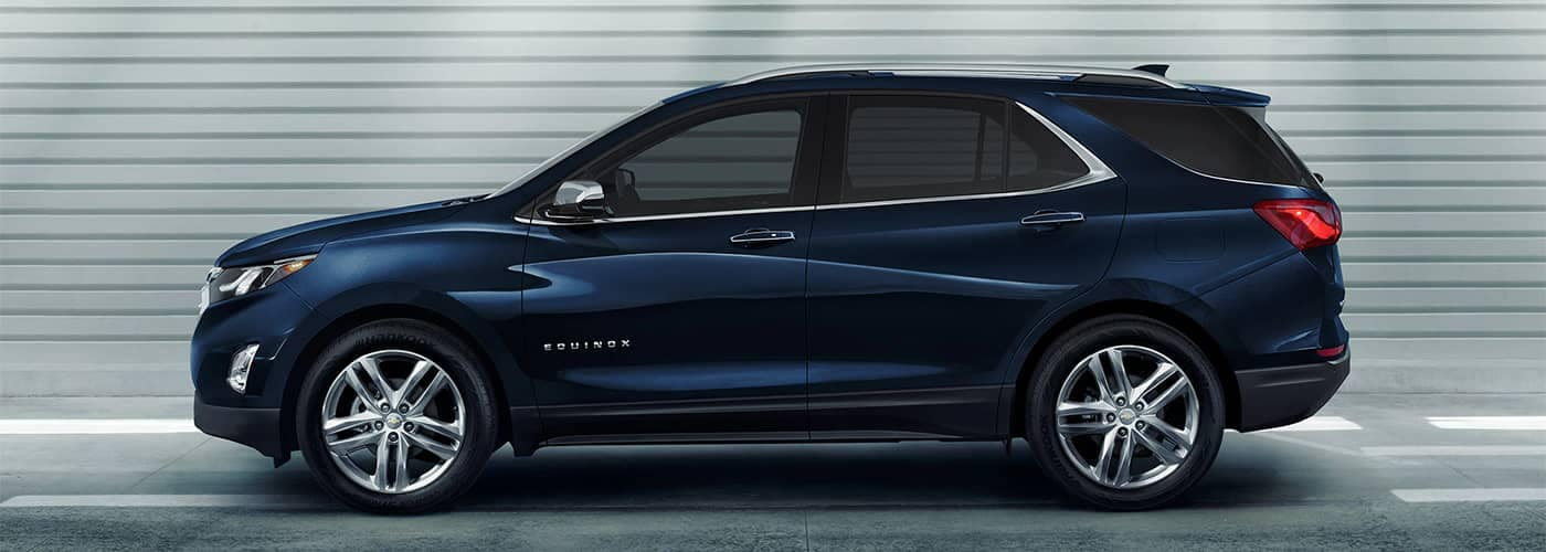 2020 Chevy Equinox Side Profile