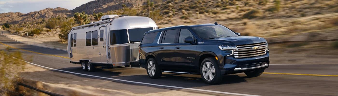 2021 Chevrolet Suburban Towing Trailer