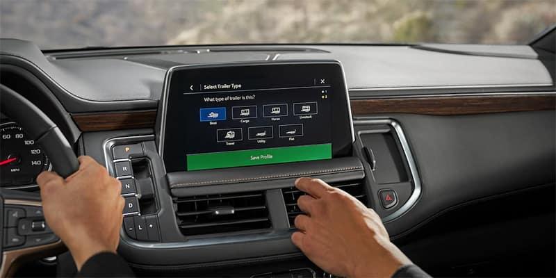 Trailering System on 2021 Chevrolet Suburban
