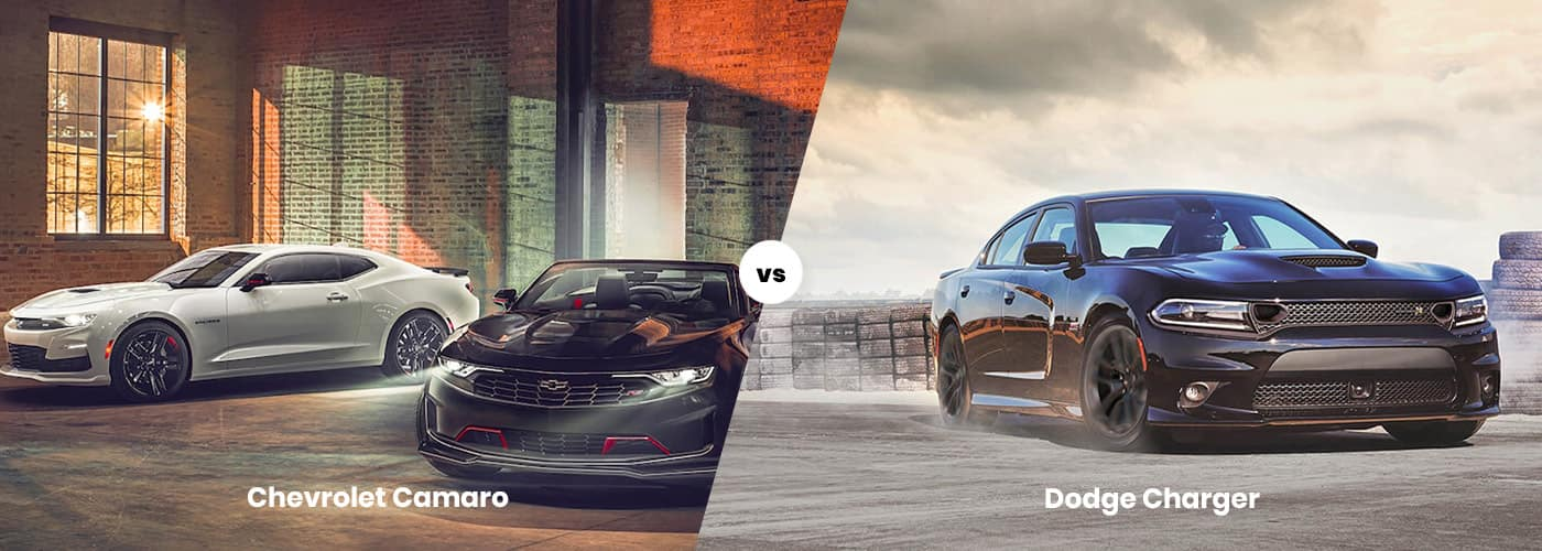 Chevy Camaro vs. Dodge Charger