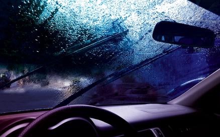 Windshield Wipers in Rain