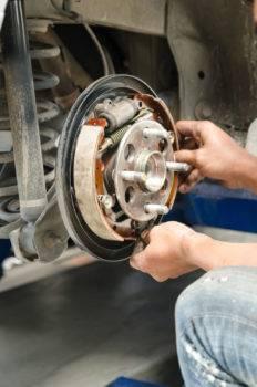brake change