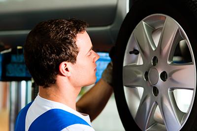 tire rotation at Cox Mazda