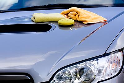 Car wash at Cox Mazda