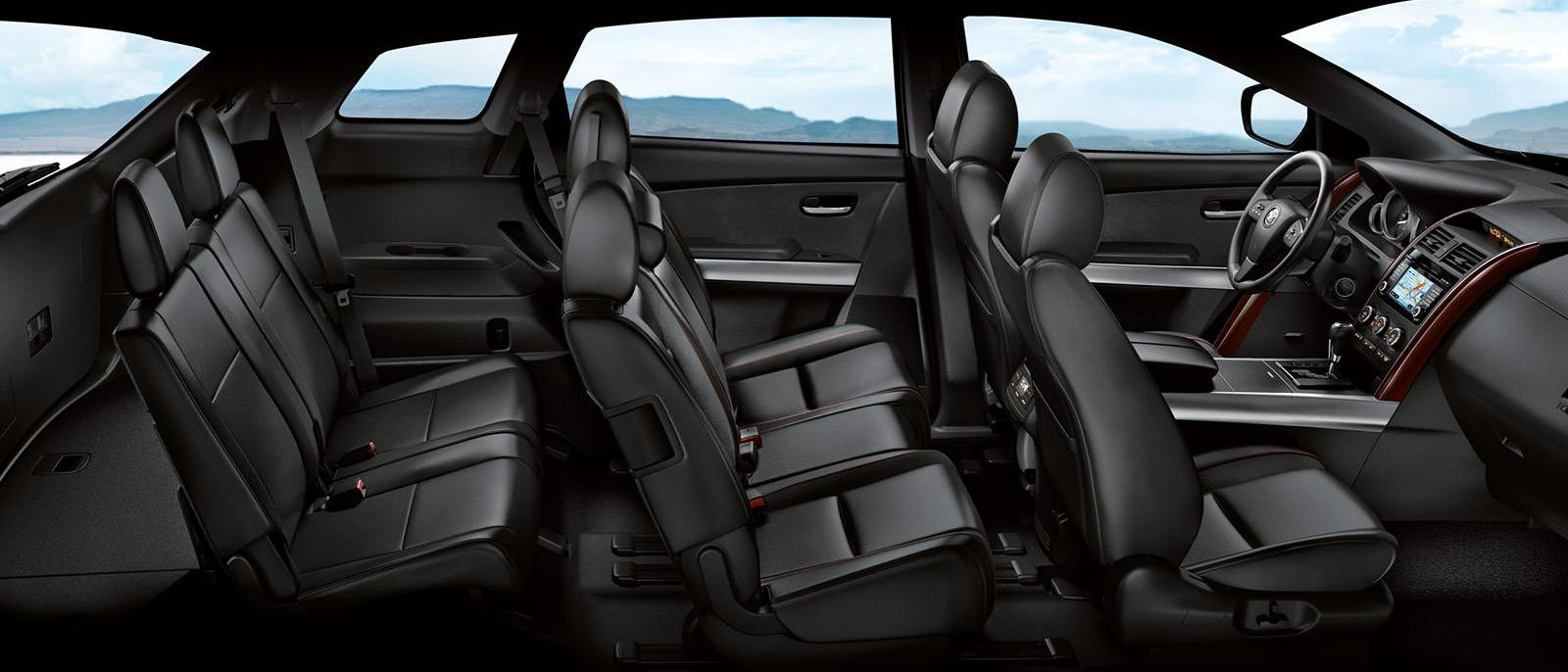 2015 Mazda5 interior