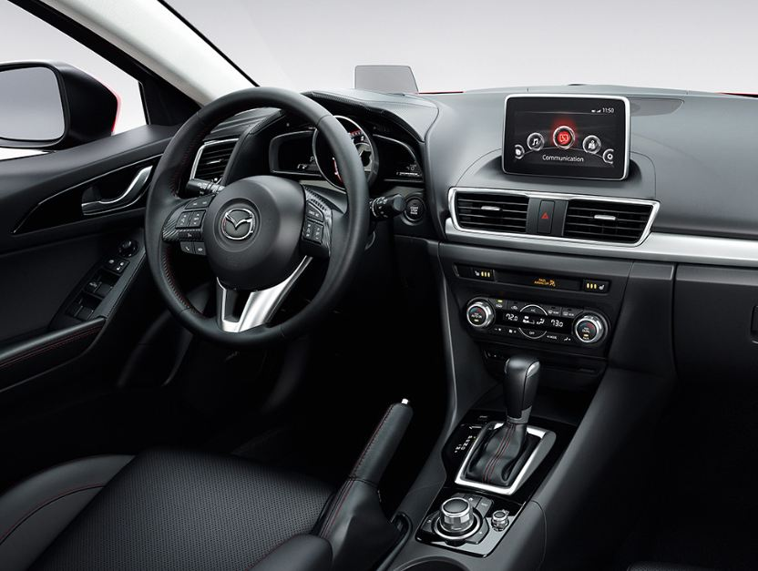 A look inside the 2014 mazda3 hatchback cox mazda - Mazda 3 hatchback interior dimensions ...