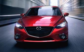 2015 Mazda3 Front