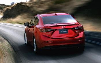 2015 Mazda3 Rear