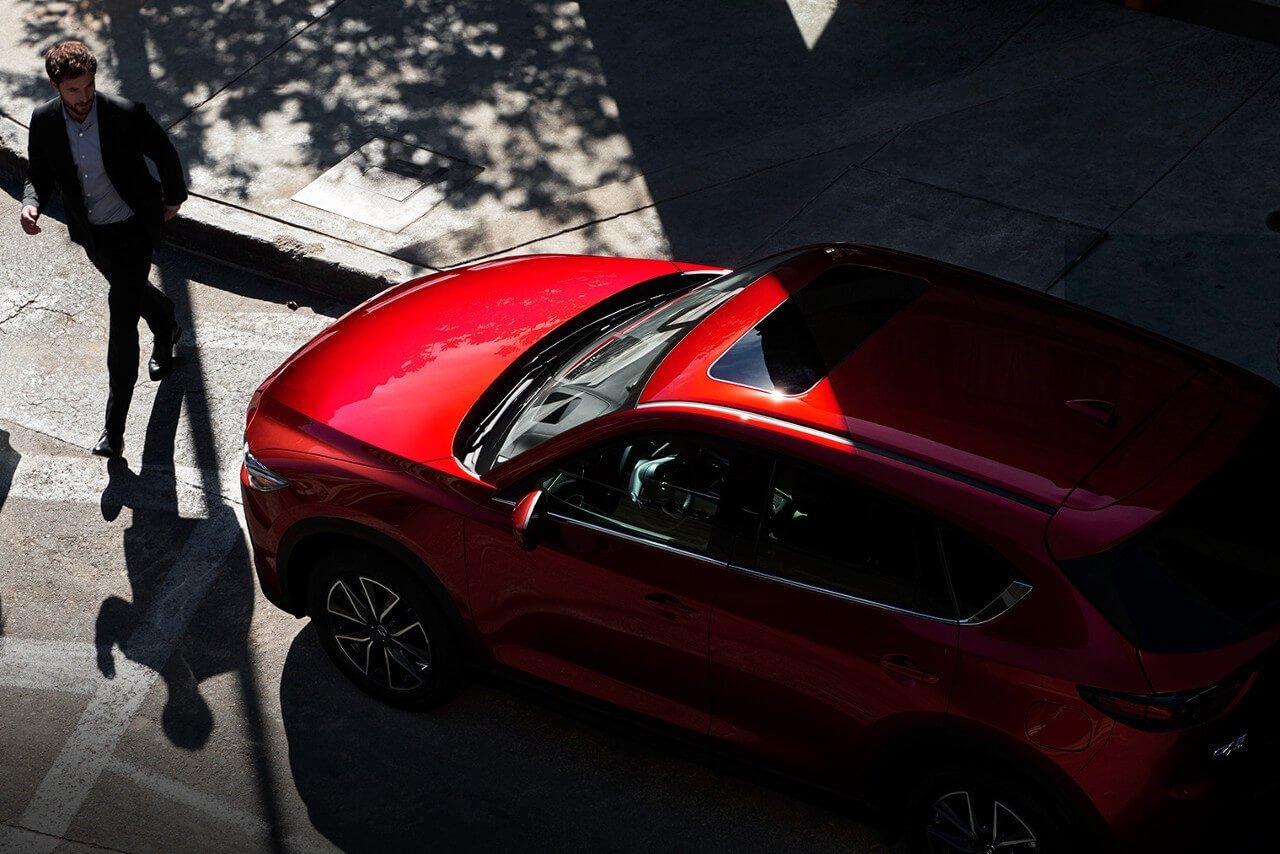 2017 Mazda CX 5 aerial view