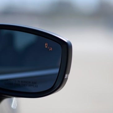 2017 Mazda CX 9 blind spot monitor