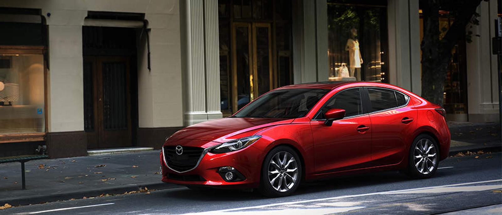 2015 Mazda3 parked