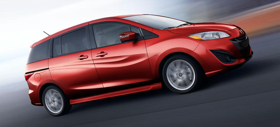 2014 Mazda5 red