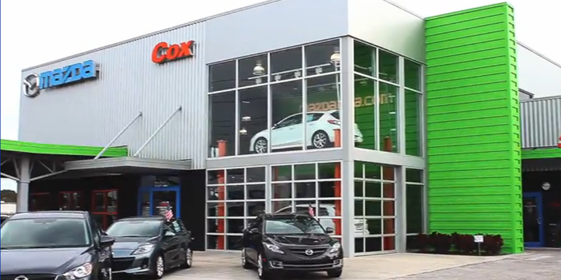 Cox Mazda Storefront