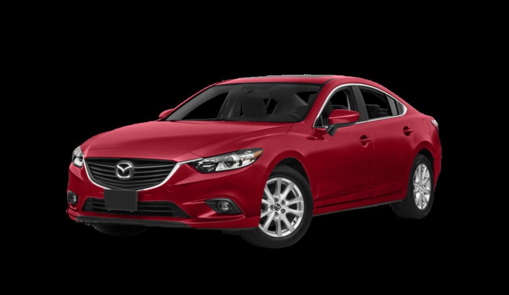 Mazda6 on white