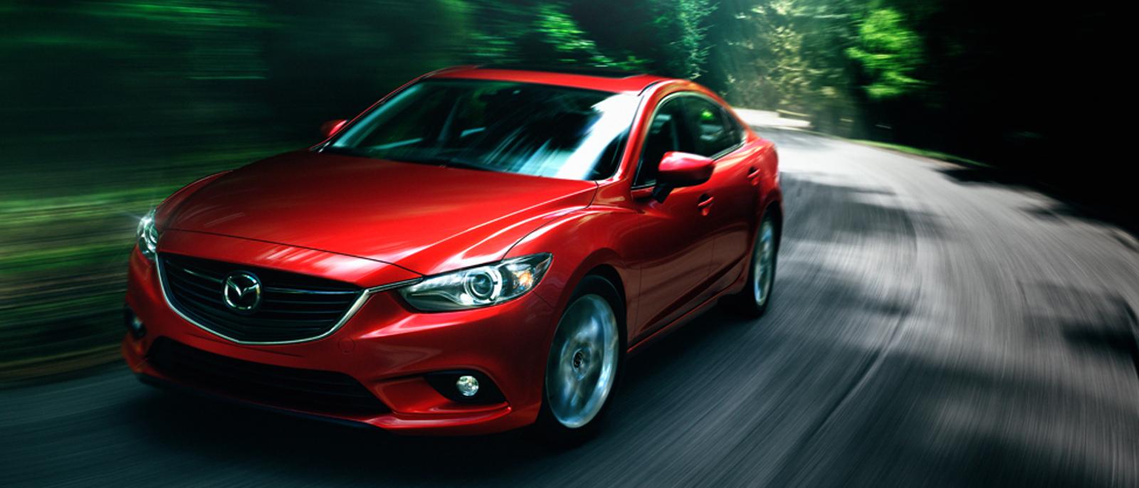 Mazda6 sport on road