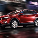 Red Mazda Crossover