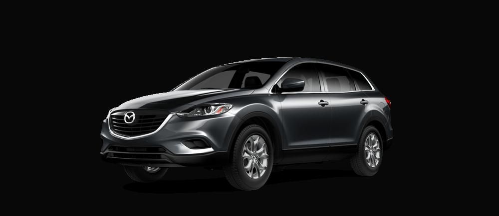 2015 Mazda CX-9 on white