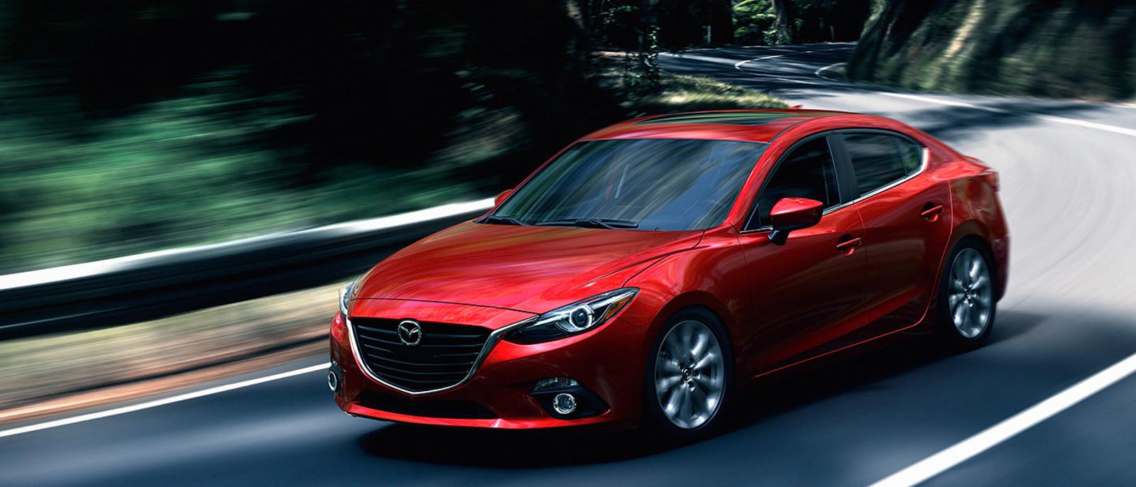 2016 Mazda3 Rear Exterior; 2016 Mazda3 Sedan ...