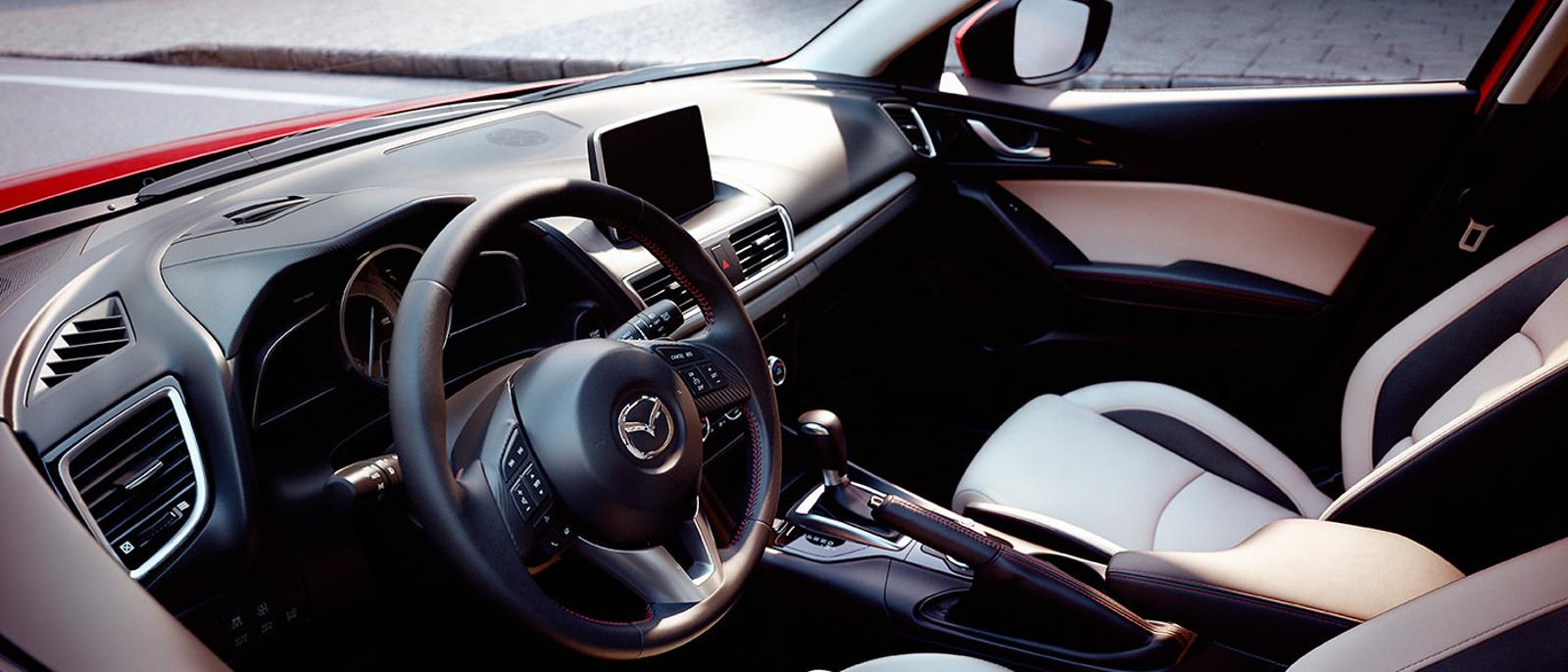 2016 Mazda3 5dr Interior