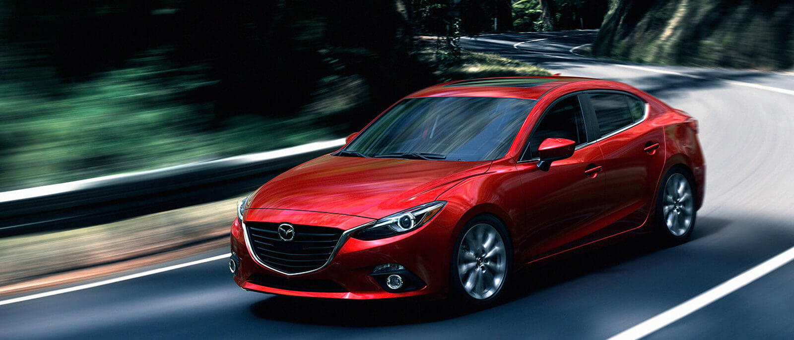 2016 Mazda3 front view