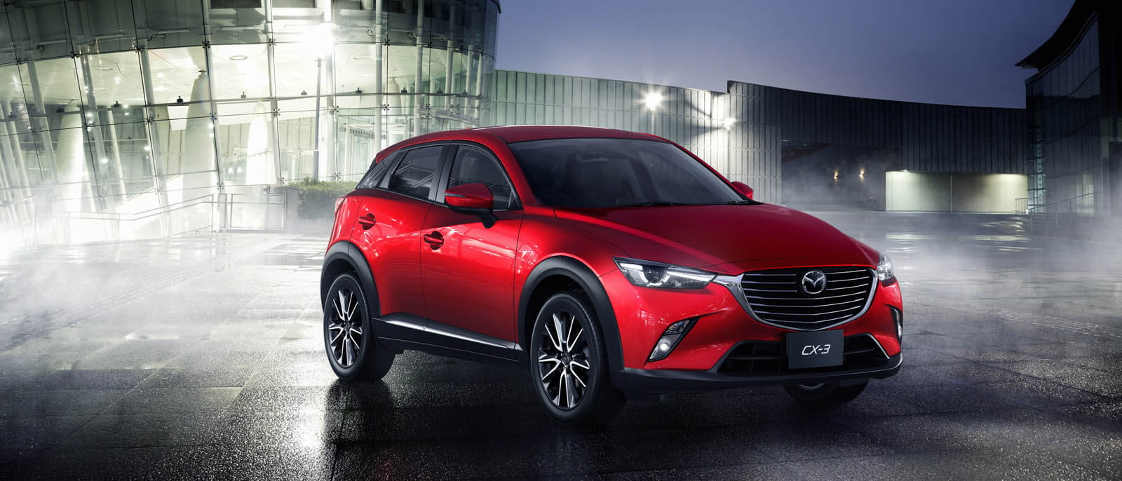 Mazda CX-3 front view