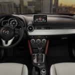 2016 Mazda cx-3 dashboard