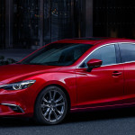 2017 Mazda6 main view in red