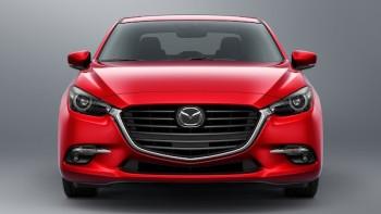 2017 Mazda 3 4 Door Front Shot